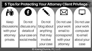 Attorney Client Priviledge
