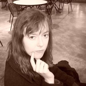 Sepia Image of Fiona Nowling