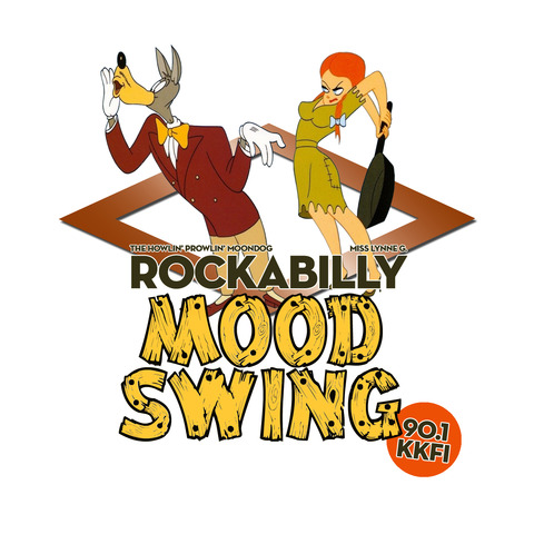 Rockabilly Mood Swing radio show logo