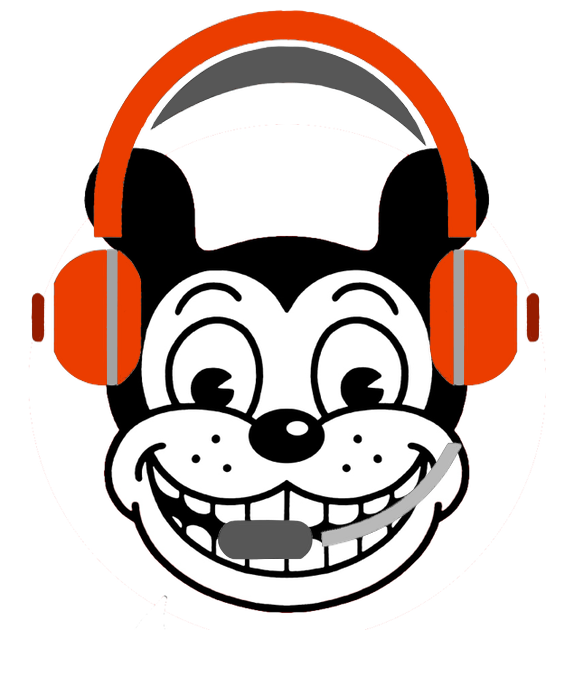 Kiki with headset