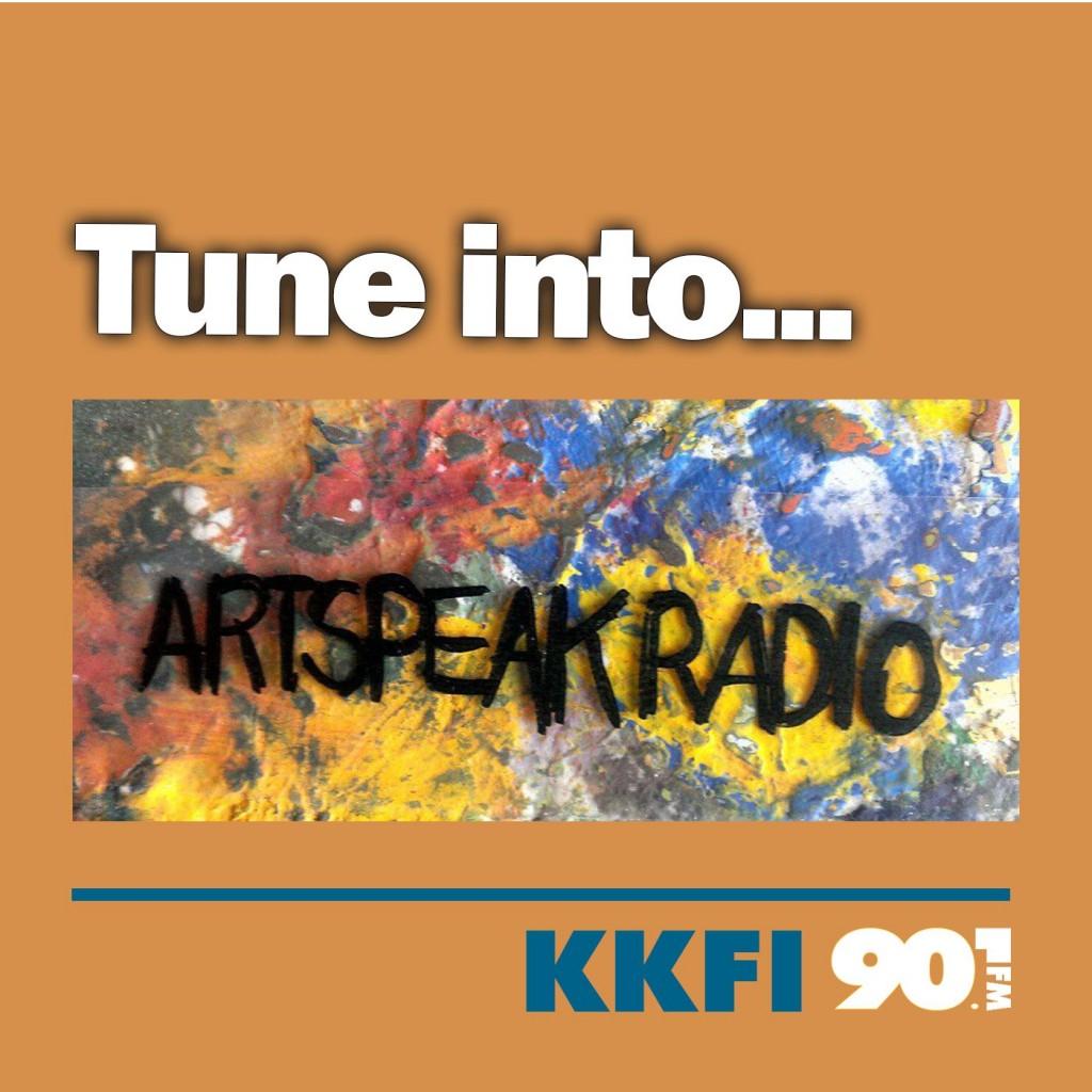 Logo for Artspeak Radio 1400x1400 px