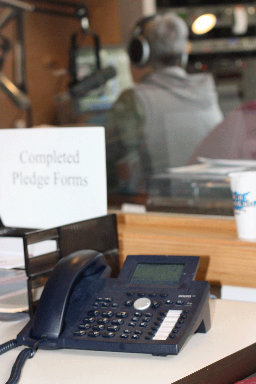 KKFI Pledge Drive Phone
