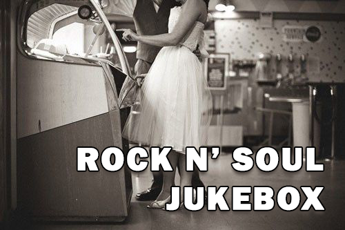 Logo for the Rock n' Soul Jukebox program