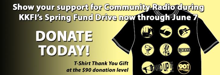 KKFI 90.1 FM Spring 2015 Fund Drive